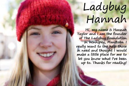 Ladybug Hannah