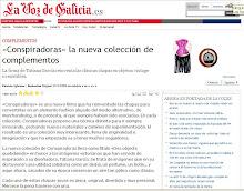 la voz de galicia. abril 09