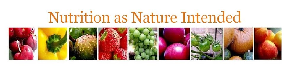 Nutrition as Nature Intended