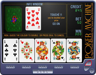 what is a 9 6 video poker machine pictures