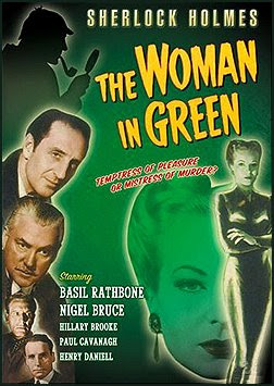Sherlock Holmes And The Woman in Green DVD
