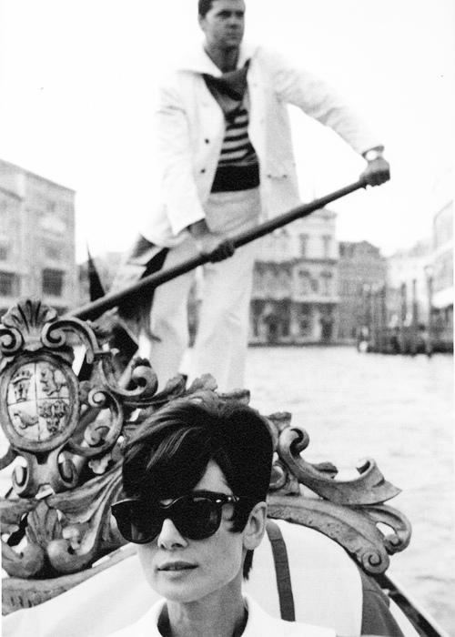 Audrey Hepburn by Yul Brynner