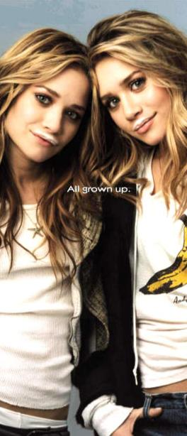 Mary Kate & Ashley fuller Olsen ♥
