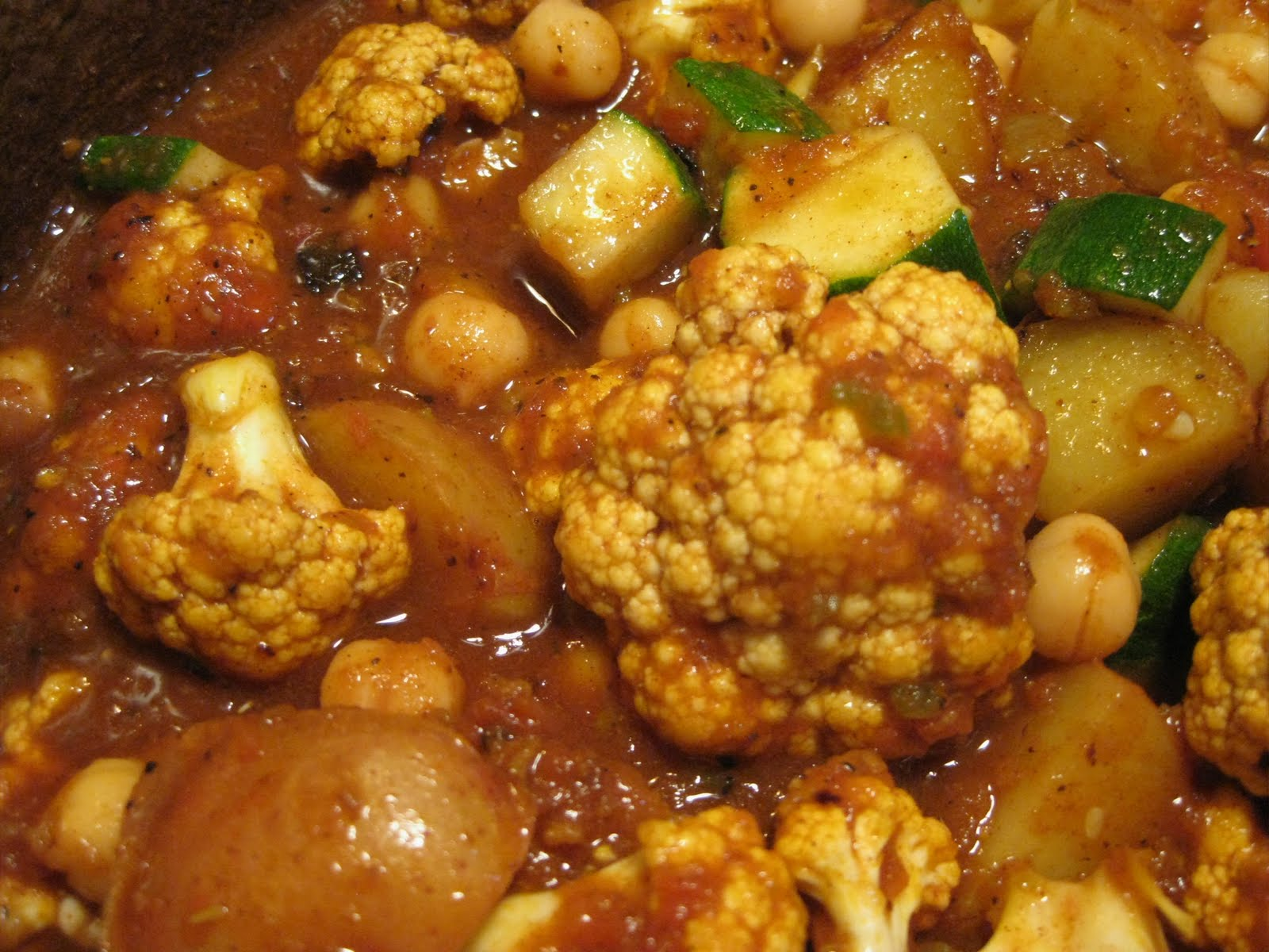Andrea The Kitchen WitchIndian Style Currypotato, chick pea