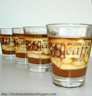 Bicchierini al caffè, gianduia e…