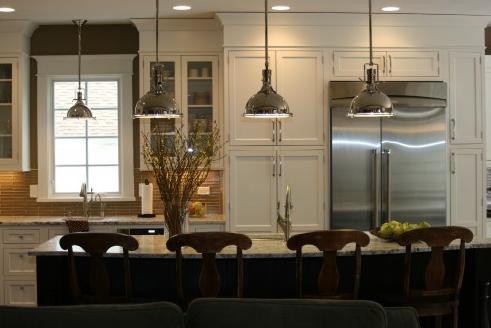 Heimsverden: belysning over kjøkkenøy