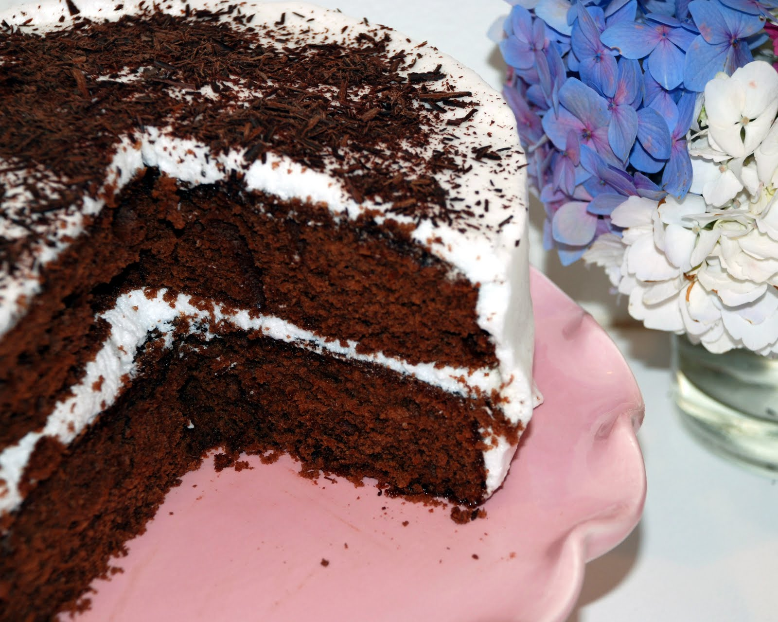 Sweet Flours: versatile vanilla cake goes chocolate