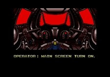 Main screen turn on!