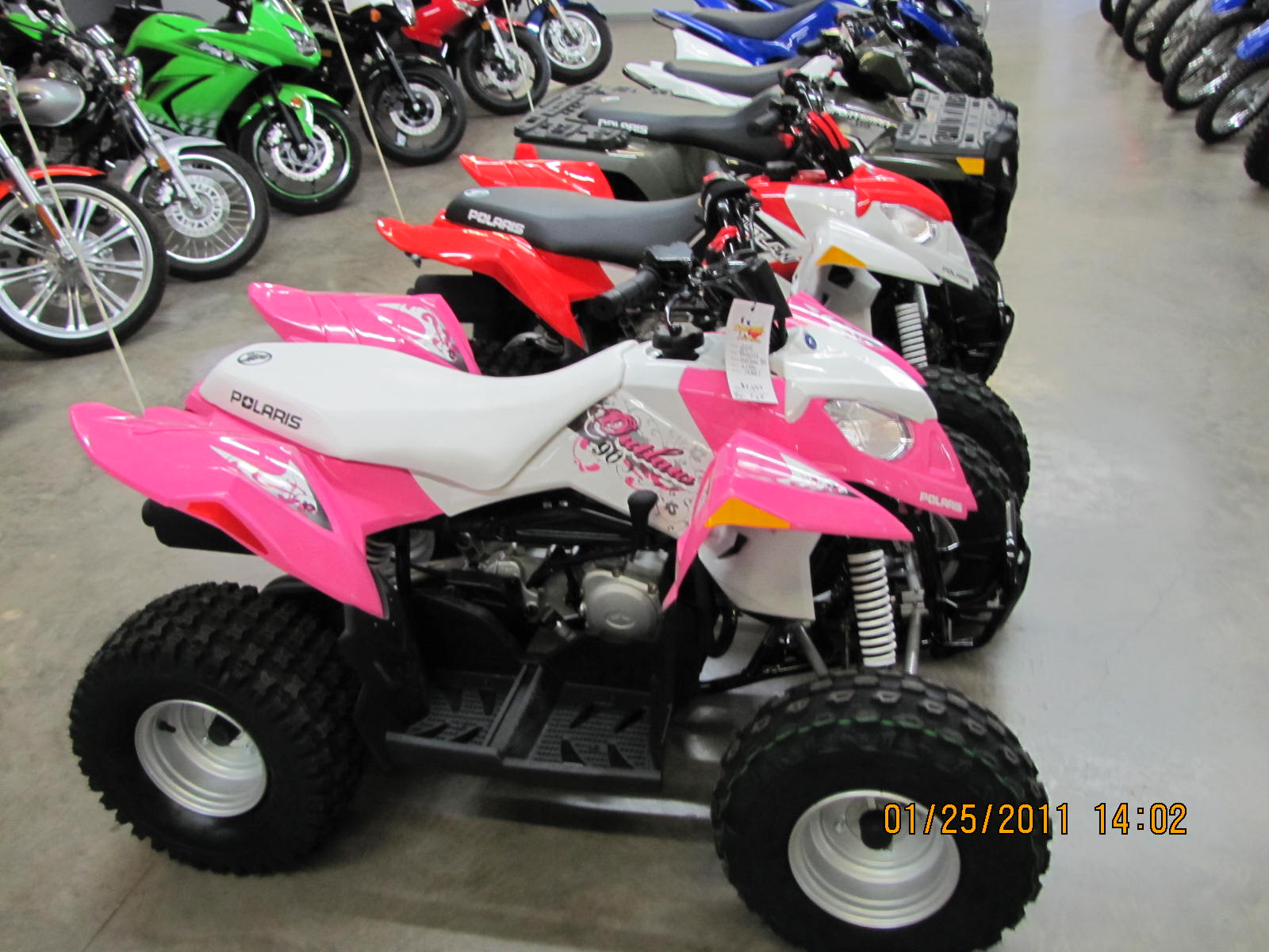 Hot Pink Four Wheelers