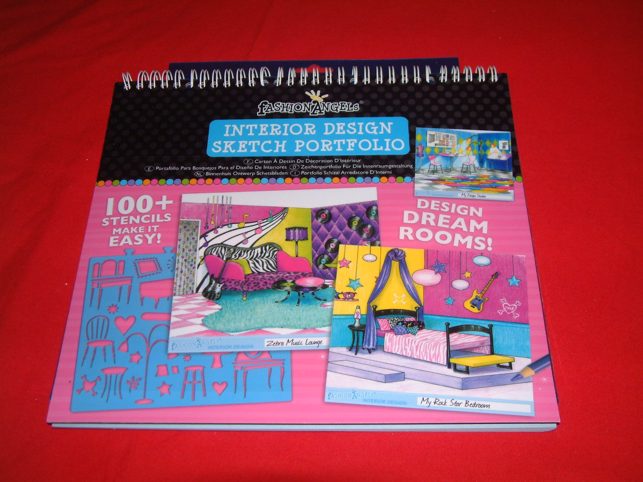 Bizzimommi 39 S Blog Fashion Angels Sketch Portfolios Review And Giveaway