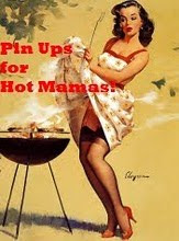 Pinup hot mama apron swap