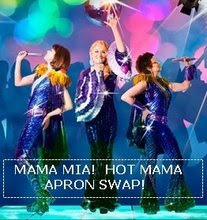 Mama Mia Apron swap