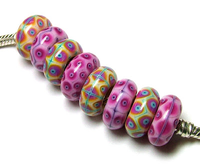 Lampwork Glass Beads For Pandora Bracelets