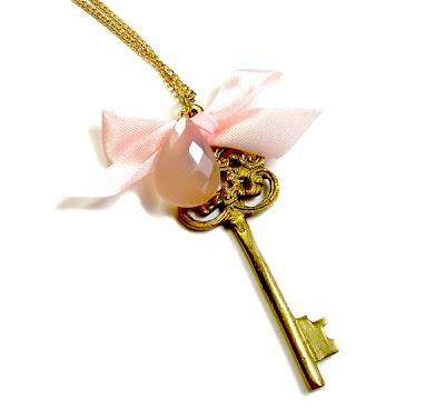 'Mystic Key' Necklace by Janine Byrom