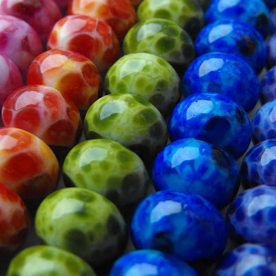 Lampwork Glass Frit Beads