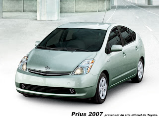 les voitures hybrides la prius 2007. Black Bedroom Furniture Sets. Home Design Ideas