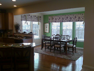 Our journey with ryan homes walls for Kitchen morning room designs