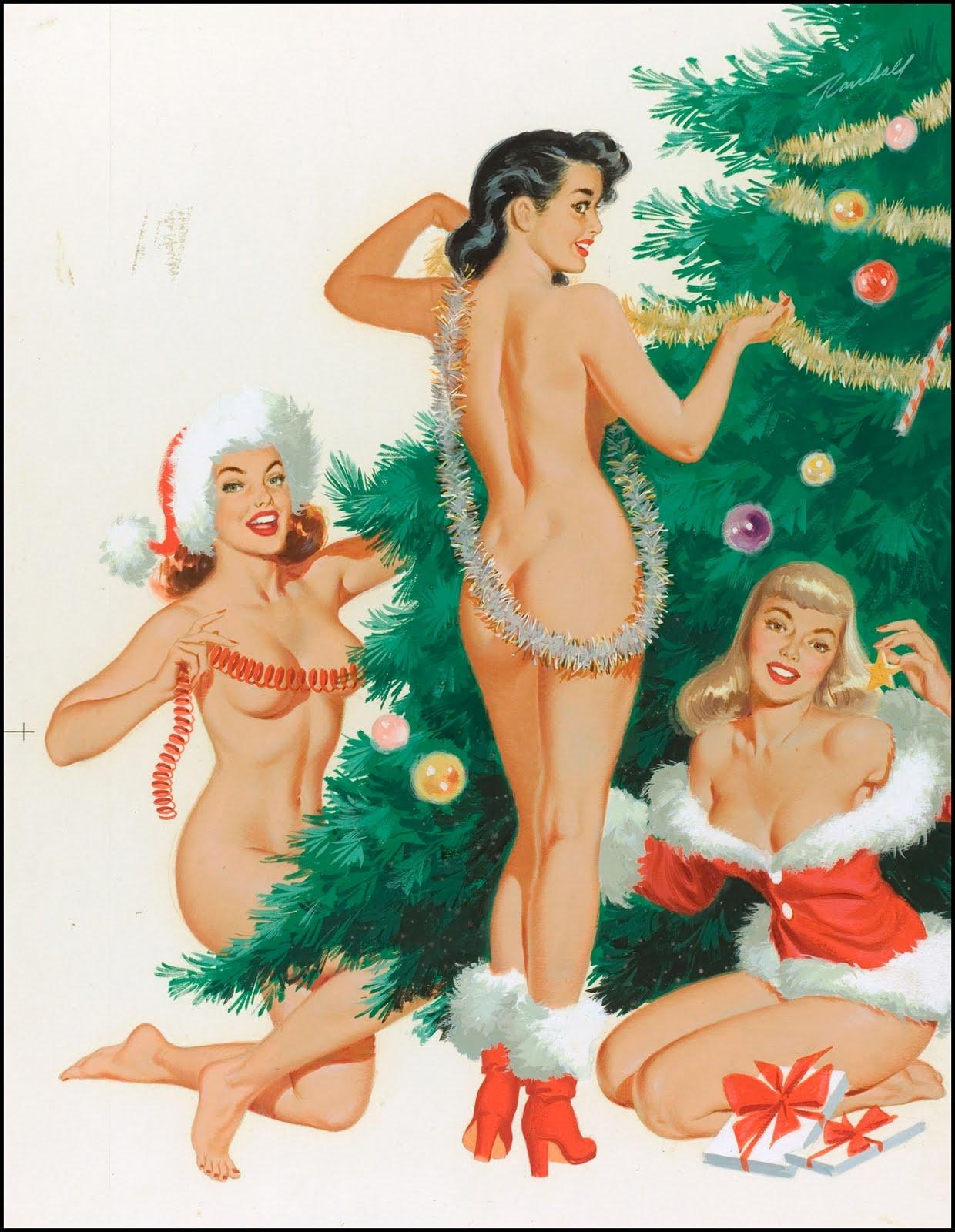 girls up nude pin Christmas