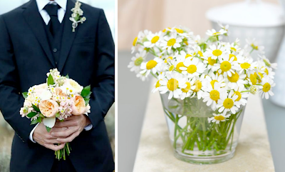 chamomile wedding inspiration