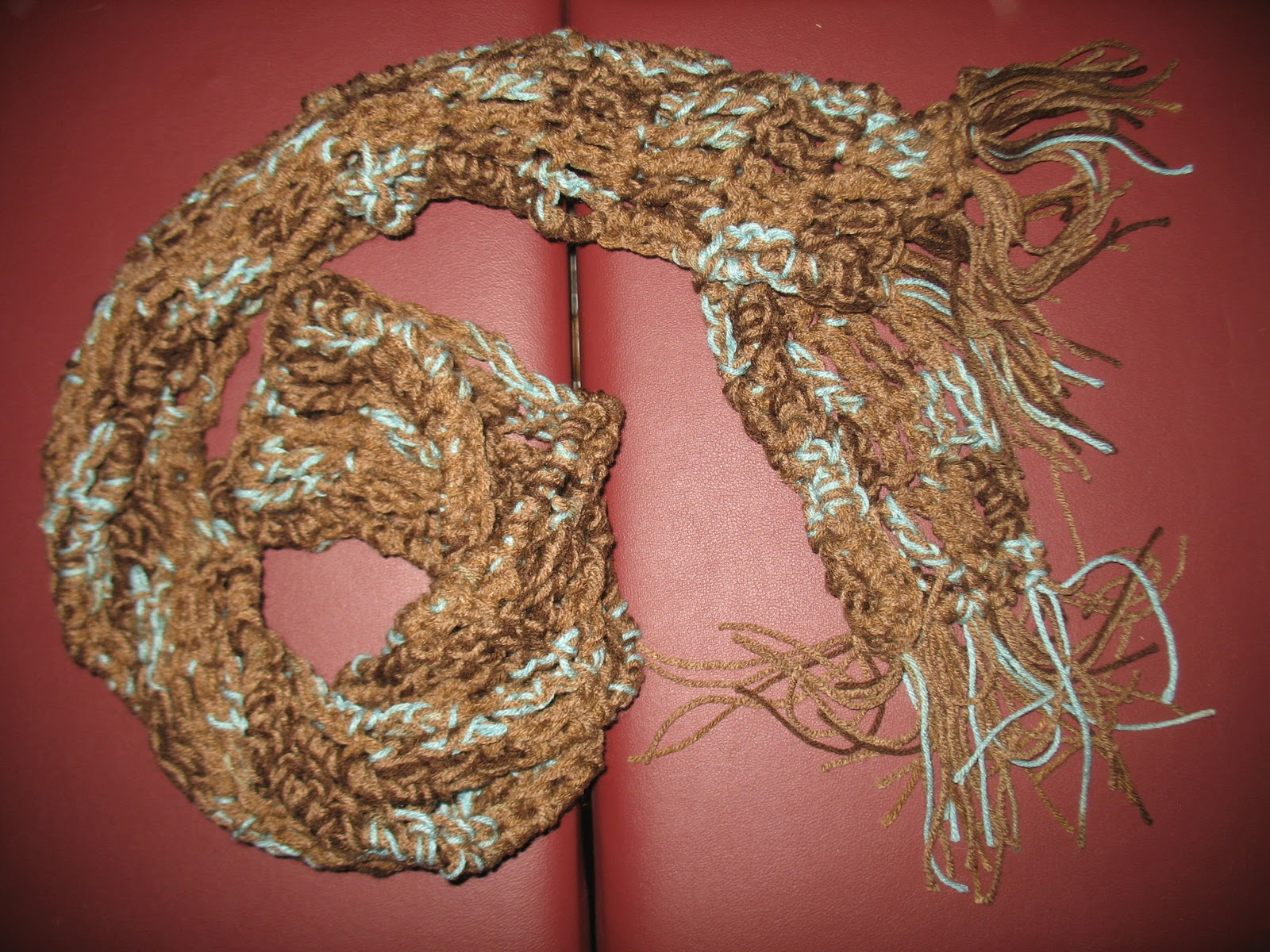 Craft Disasters and other Atrocities: Christmas Gifts: 90 Minute Scarves