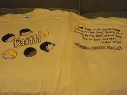 Adoption Tshirts  $12.00 each  sizes small-xxlarge