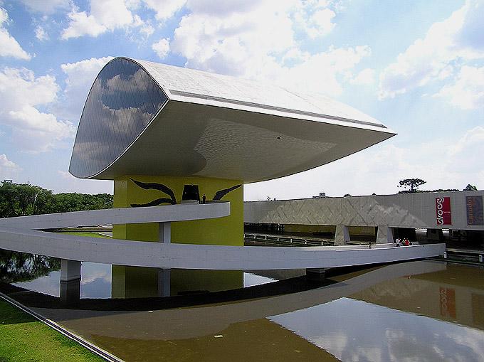 Curitiba, museu Oscer Niemeyer
