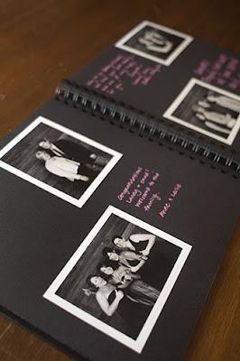 A Regal Affair: An update for the Polaroid Guest Book