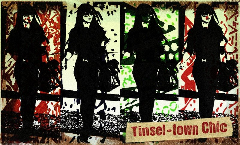 Tinsel-town Chic