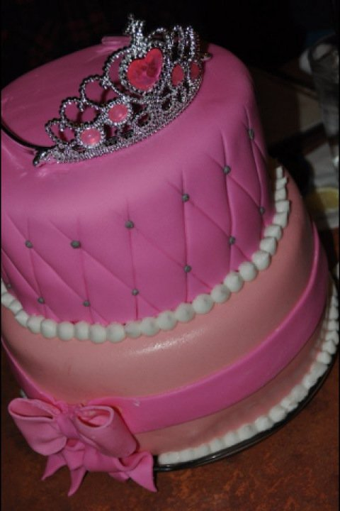 Crazy 4 Sweets Princess Cake