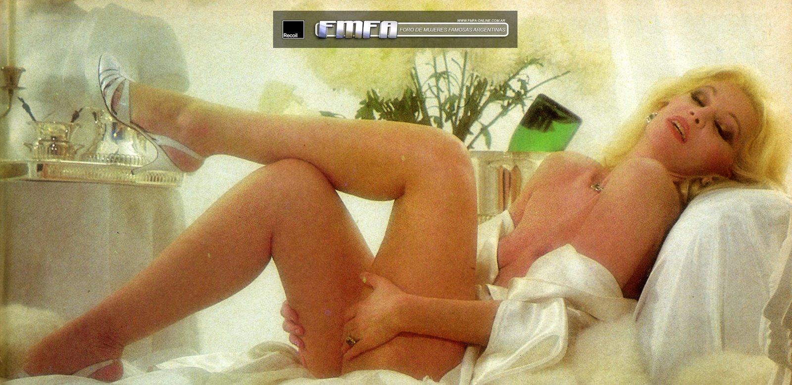 Susana Gimenez desnuda en Playboy