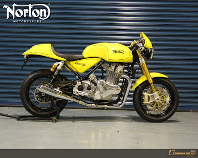 Norton Commando 961 Cafe Racer 2010 bike