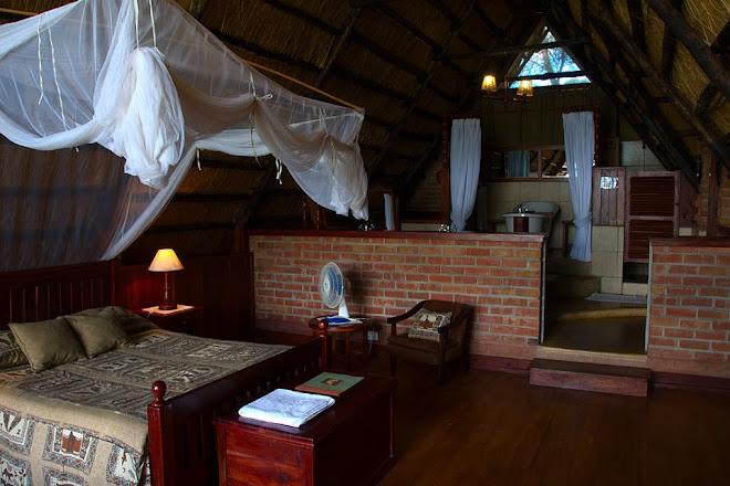 Lodge interior, Antelope Park, near Gweru, Zimbabwe © Matt Prater