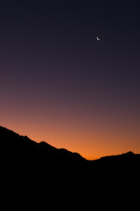 Twilight from a koppie in the Brandberg massif, Damaraland, Namibia © Matt Prater