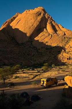 Campsite, Spitzkoppe, Namibia © Matt Prater