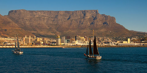View from Robben Island ferry, Cape Town, South Africa © Matt Prater