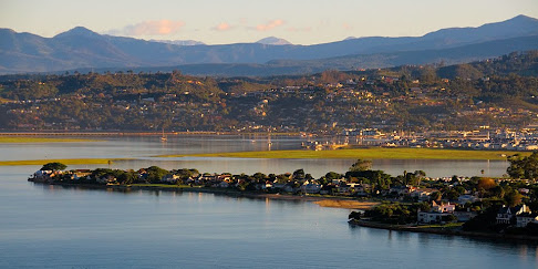 Estuary from the Heads, Knysna, South Africa © Matt Prater