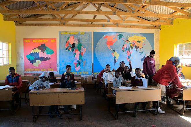 Classroom in Malealea, Lesotho © Matt Prater