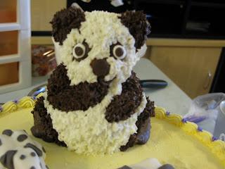 Panda Icing Cake