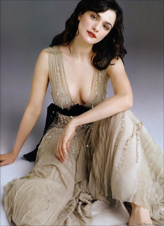 Rachel Weisz. She's probably a dumbass leftie, but wtf?