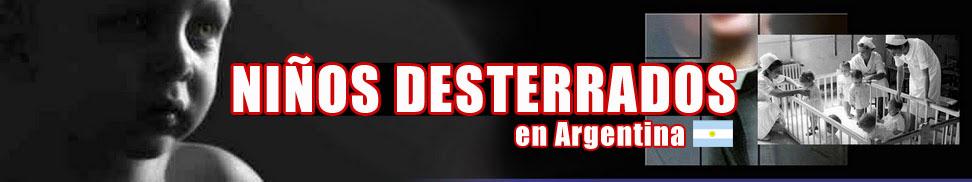 Niños Desterrados de Argentina
