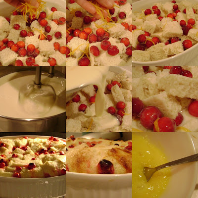 Mennonite Girls Can Cook: Bread Pudding with Orange Creme Anglaise