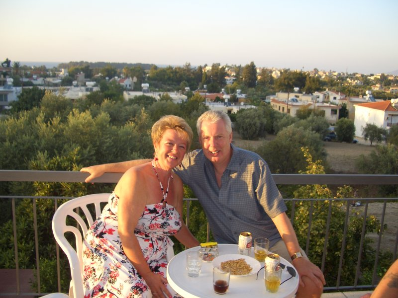 a new life planned in cyprus our wedding anniversary in