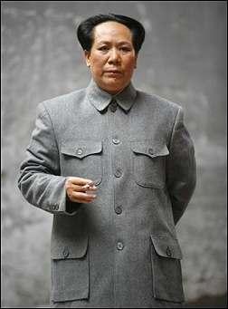 Evaluación de Mao Zedong Mao_Tse_Tung_imitator_1