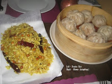 Momos and Beaten rice