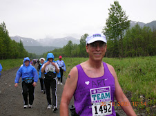 I've done 3 full and 2 half marathons for Team in Training: Marathons in Anchorage, Alaska - 2005