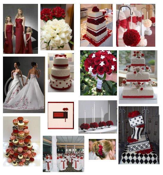 de 5000 visitas / Decoração Vermelho + preto e/ou branco