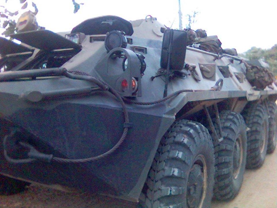 BTR-80 Caribe | Tanques y Blindados