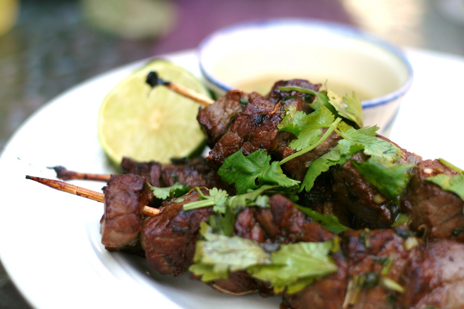 ... sauce beef satay with spicy peanut sauce beef satay with spicy peanut