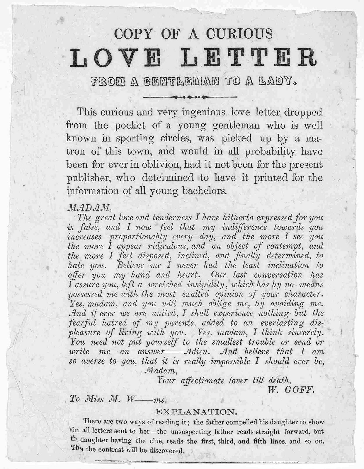Romantic Love Letters To Boyfriend