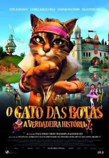 A Verdadeira História do Gato de Botas Dublado